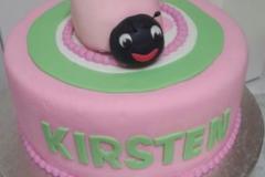 Ladybug-cake